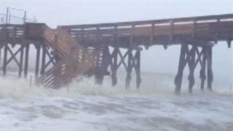 16 WAPT News crews were on the Mississippi Gulf Coast when Isaac hit. Click here for more images.