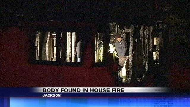 One man is dead tonight. Pulled from a house that went up in flames tonight.