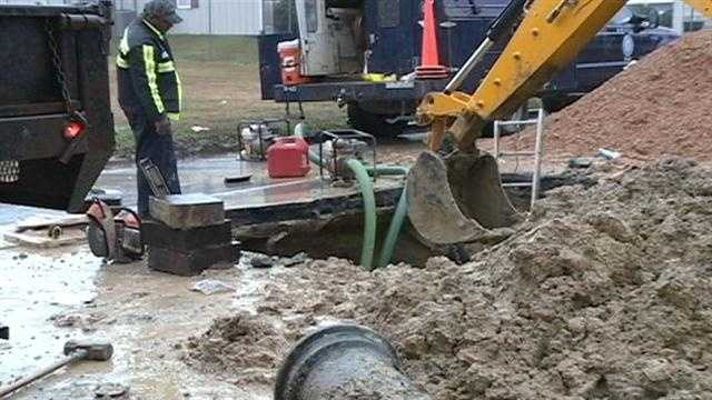 Jackson water main break