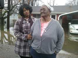 Tallulah, La., residents cope with flooding.