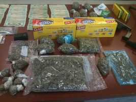 Deputies seized 2 lbs. of marijuana, cash and two vehicles -- a 1994 Honda Accord and a 2003 Nissan Maxima.