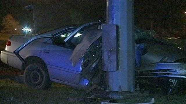 Cop killed in crash