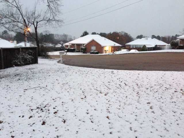 Snow in Byram