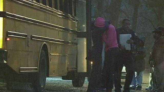 School bus bb gun fired