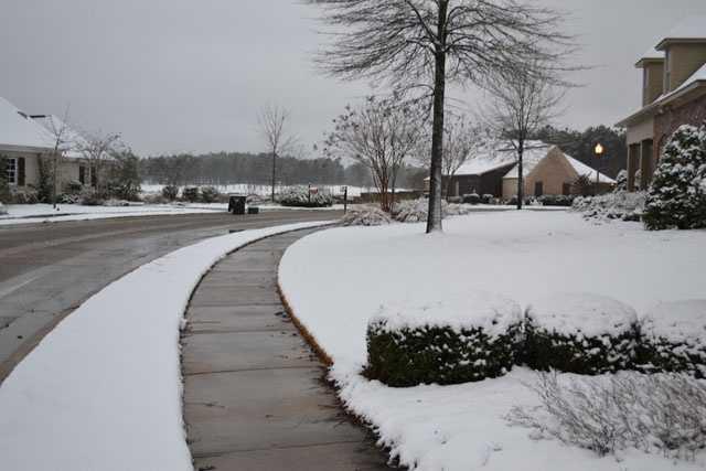 Snow in Madison