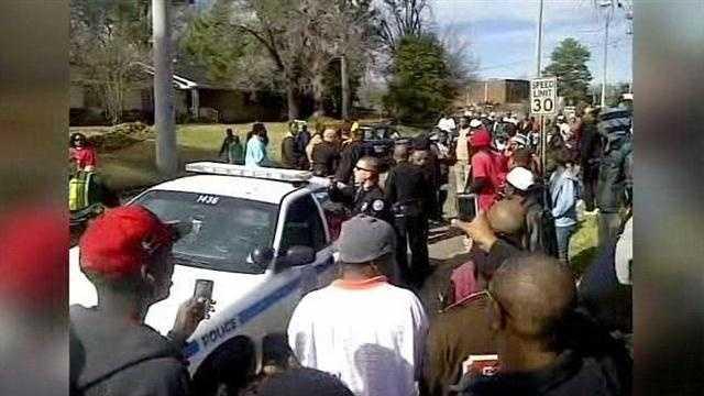 MLK parade shooting