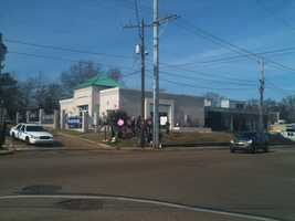 Pro-life and pro-choice supporters have assembled outside the clinic in Jackson this week.