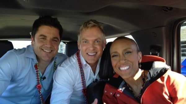GMA anchors Josh Elliott, Sam Champion and Robin Roberts during their trip to New Orleans. Click here for more photos.