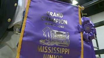 The Dixie National Rodeo Sale of Junior Champions took place Thursday.