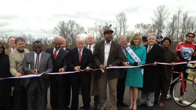 Canton Bypass ribbon cutting
