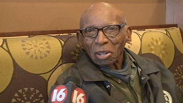 Today marked a milestone for George Benson of Jackson.