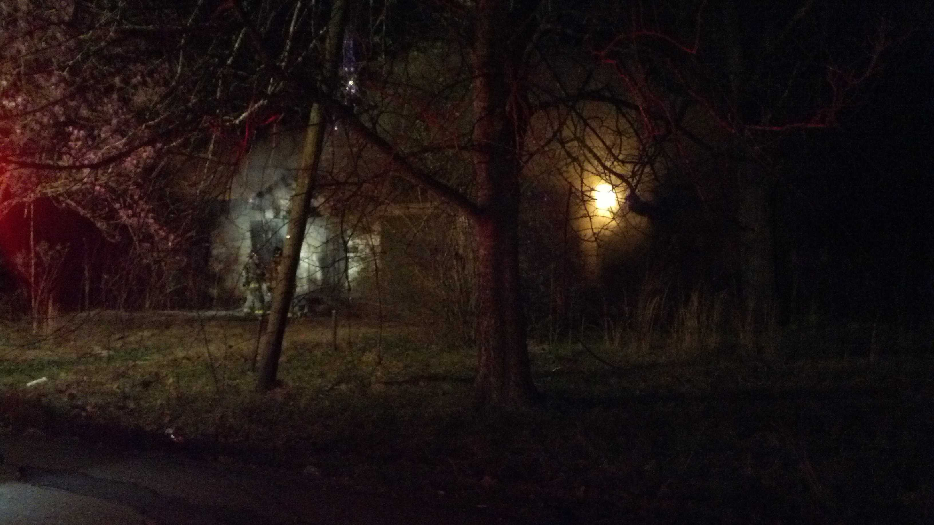 Fire officials investigating vacant house fire
