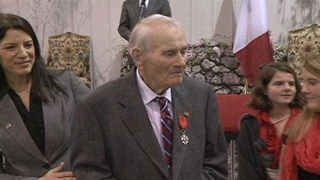 A local U.S. Army veteran received two distinguished honors Tuesday.