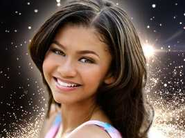 "Disney star Zendaya Coleman stars as Raquel ""Rocky"" Blue in the hit series, ""Shake It Up!"""