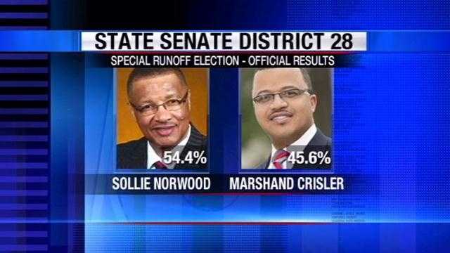 Norwood crisler senate race