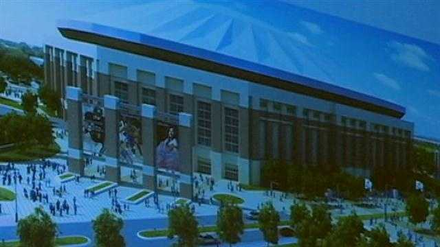 "jackson state rolled out its plan for a ""new"" 200-million dollar domed stadium today"