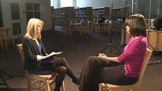 16 WAPT's Megan West speaks one-on-one with First Lady Michelle Obama.