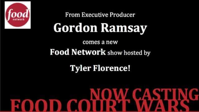 Food Court Wars casting gfx