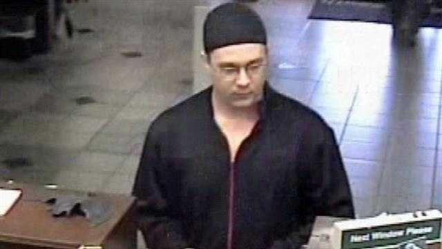 The FBI is searching for a bank robber who has hit at least ten credit unions across three states.
