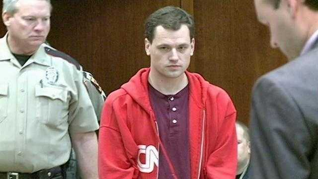 Eric Law appears in court.