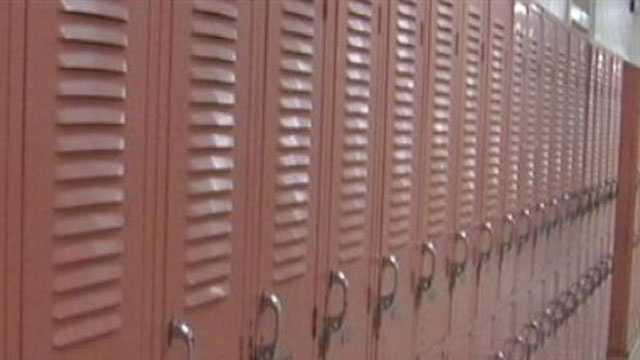 School locker school generic
