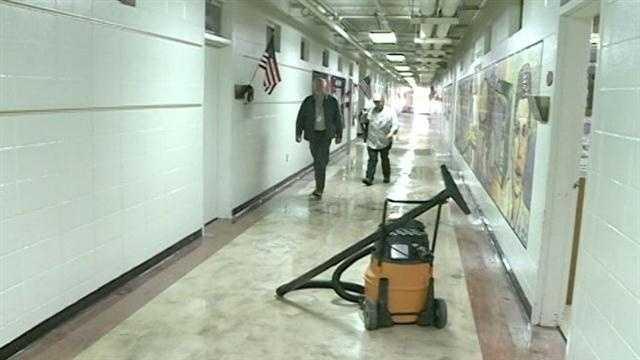 Lovett Elementary School closed