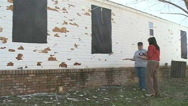 Cedar Ridge hail damage