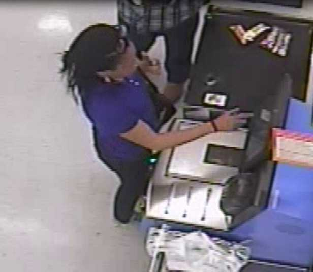 The credit card was used at the Walmart in Pearl on several occasions, police say.
