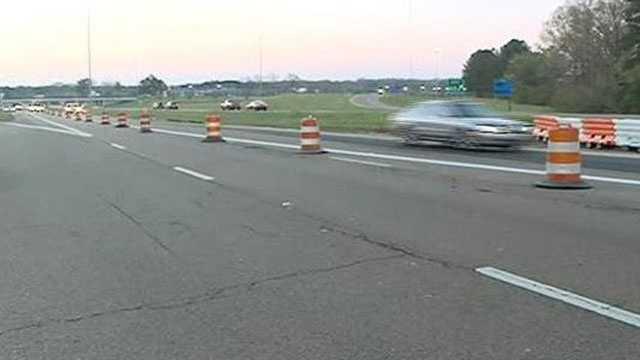Interstate 20 road work