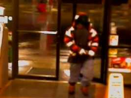 Morton police have released surveillance photos of a robbery at a local gas station.