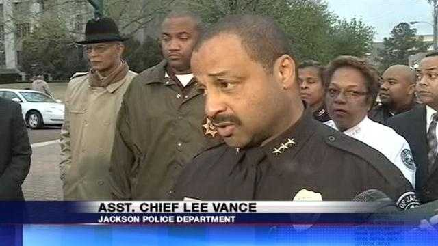 "Assistant Chief Lee Vance said the department was dealing with a ""tragic situation."""