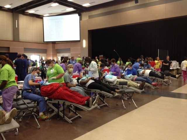 The program offers free dental care to patients on a first come, first served basis.