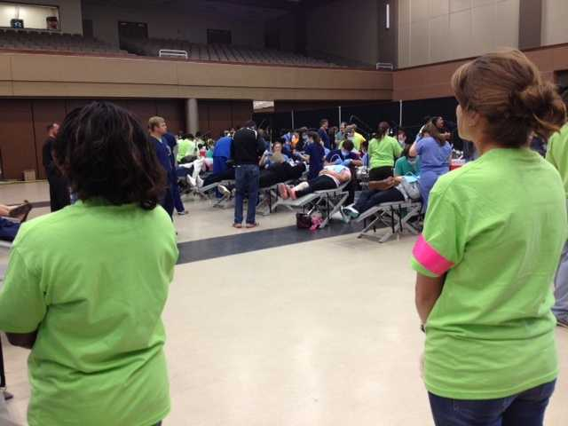 Organizers say 2,000 people are expected to seek free dental care during the event.