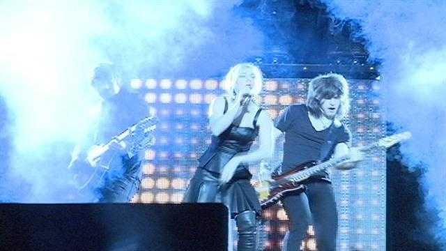 The Band Perry performs at Thalia Mara Hall.