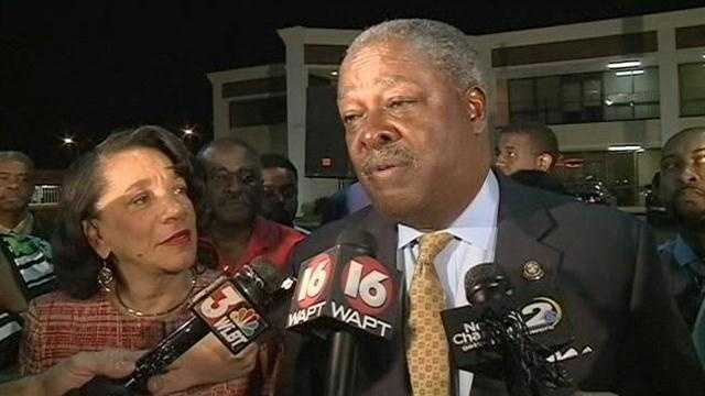 Mayor Harvey Johnson took third place in the 2013 primary. He served three terms as Jackson's mayor.