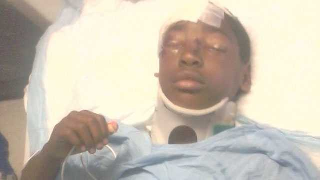 Cortavious Kendrick is hospitalized in Jackson.