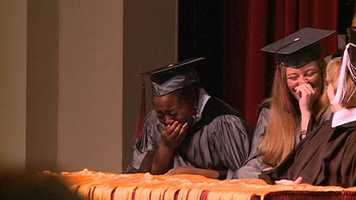 A Hinds Community College student gets the surprise of her life. Click here to read the story and see pictures that may bring a tear to your eye.
