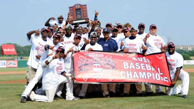 Jackson State University captured its 15th overall baseball title after defeating Prairie View A&M, 6-2, in the championship final of the 2013 SWAC Baseball Tournament on Sunday.