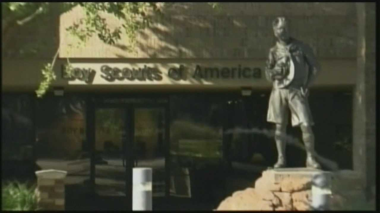 Local churches are reacting to that controversial decision by the boy scouts to allow gay members.