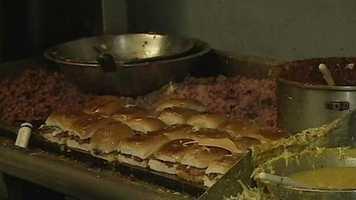 Big Apple Inn's pig ear sandwich has drawn national attention.