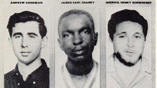 Andrew Goodman, James Chaney, Michael Schwerner