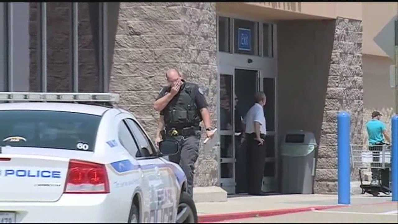 A scary situation in Pearl. Someone called in a bomb threat to the Walmart on Highway 80.