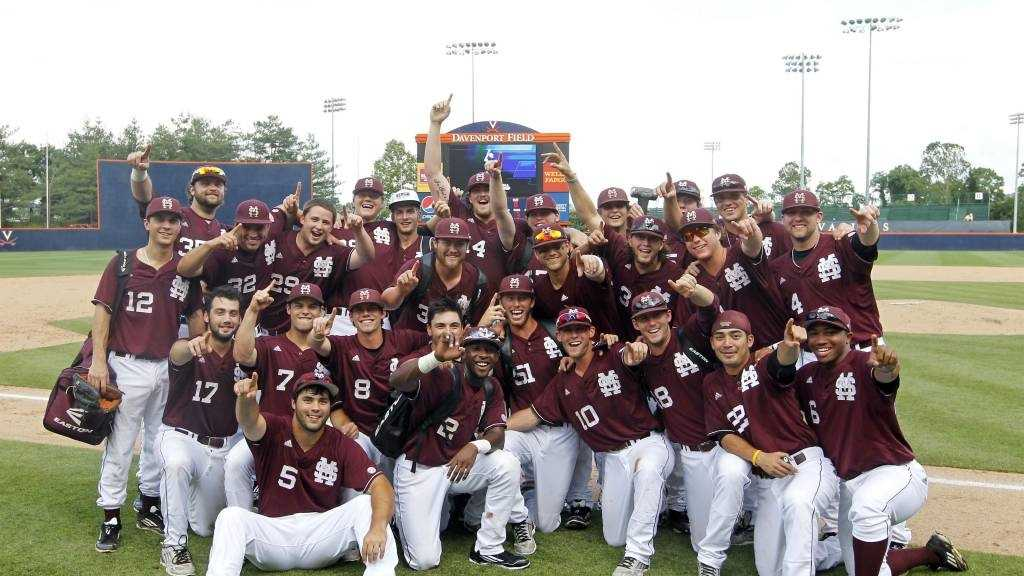Mississippi State's 6-5 win over Virginia gave the Bulldogs their first College World Series berth since 2007.
