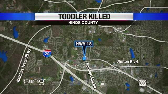 Toddler killed