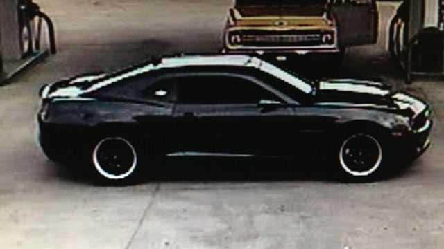 church robbery car