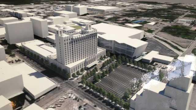Convention Complex Hotel plan