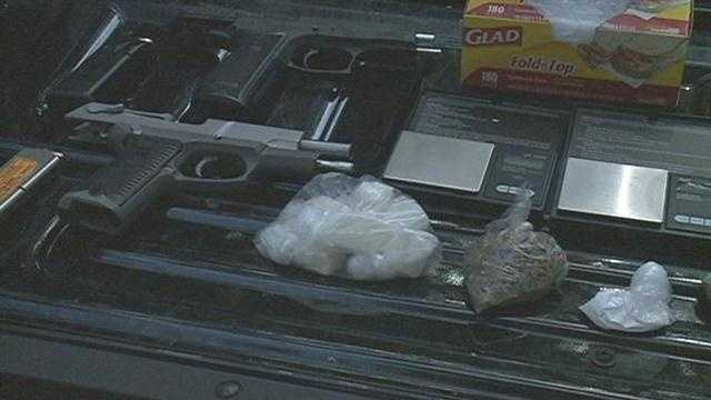 LaSalle Street drug bust