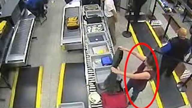 The Atlanta Police Department releases video of a woman they say is accused of stealing a Rolex watch from a security line at the airport. Investigators believe the woman flew from Atlanta to Jackson.