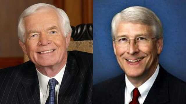 Mississippi's U.S. senators Thad Cochran and Roger Wicker