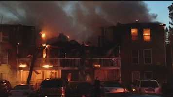 Brandon firefighters battled the major fire for hours on July 3 at Lakeshore Pointe Apartments.